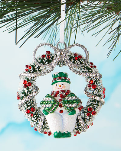 Welcome Christmas Ornament