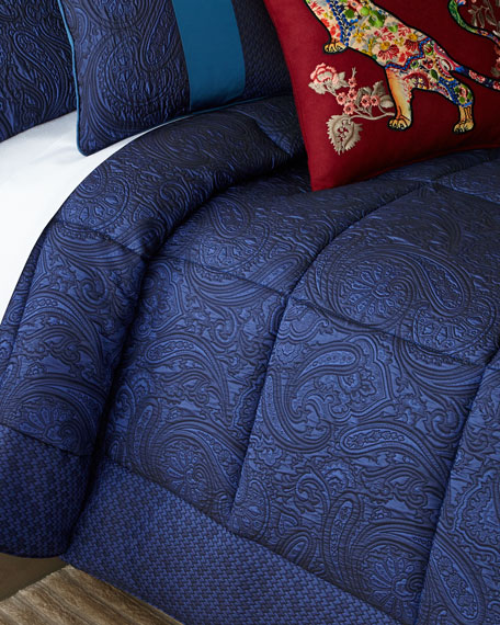 Image 1 of 1: Quilted King Comforter Set