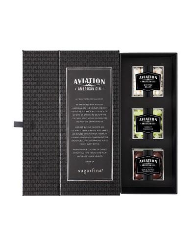 Aviation Gin 3-Piece Candy Bento Box Preset (Nonalcoholic)