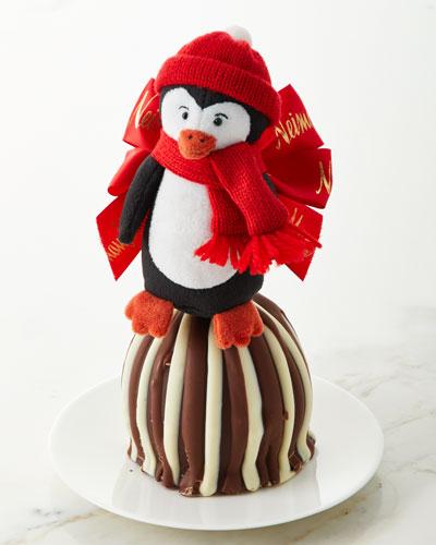 Penguin Triple Chocolate Caramel Apple