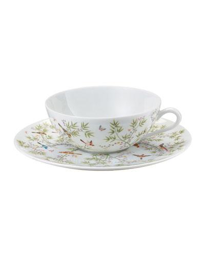 Paradis White Teacup