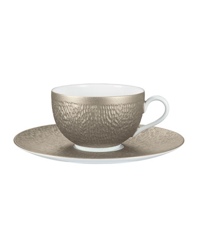Mineral Irise Warm Gray Teacup