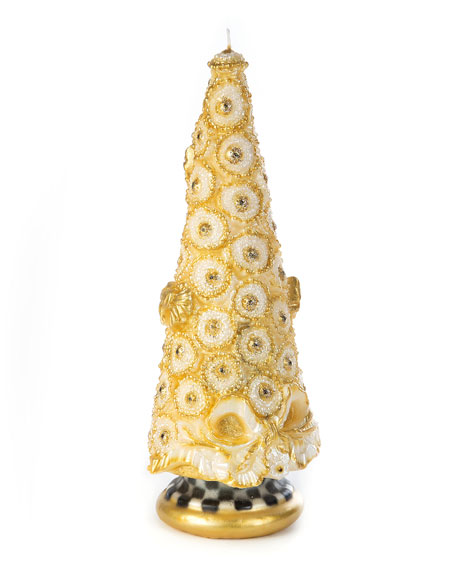 """Golden Tree Candle, 12"""""""