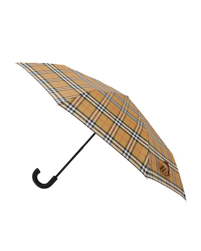 Trafalgar Check Foldable Umbrella