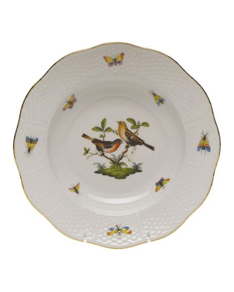 Rothschild Bird Motif 9 Rim Soup Plate