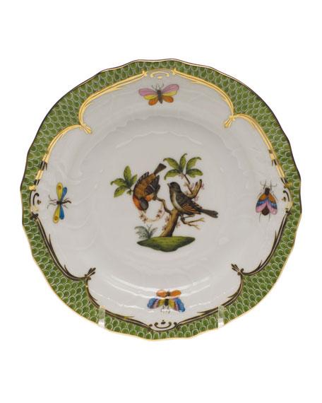 Rothschild Bird Green Motif 12 Bread & Butter Plate