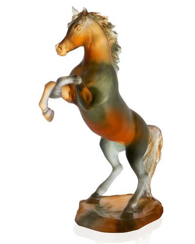 Spirited Horse Figurine