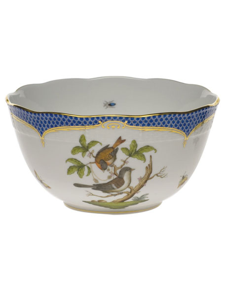 Image 1 of 1: Rothschild Blue Round Bowl
