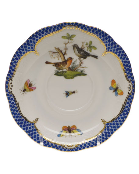 Rothschild Blue Motif 05 Tea Saucer