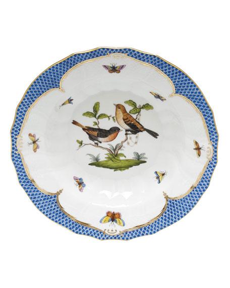 Rothschild Blue Motif 09 Rim Soup Bowl