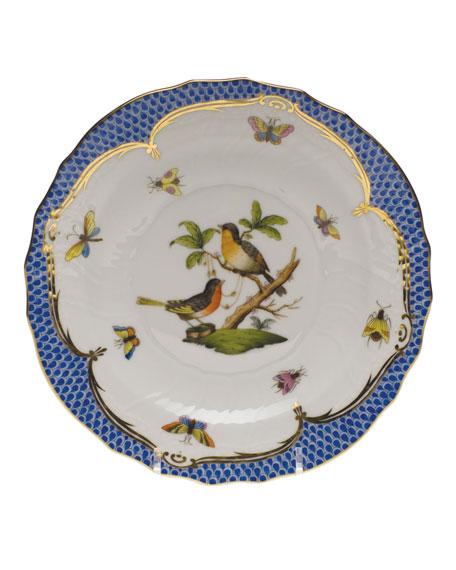 Rothschild Blue Motif 08 Salad Plate