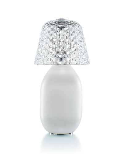 Baby Candle Lamp  White