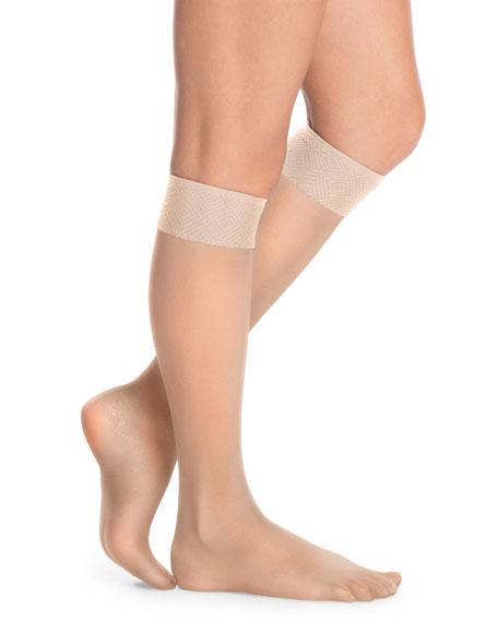 Sheer Hi-Knee Stockings