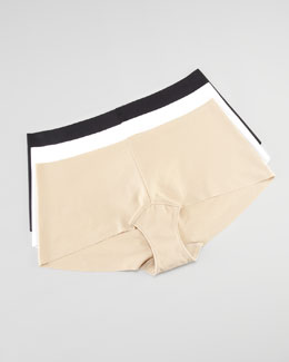 Commando Seamless Cotton Boy Shorts
