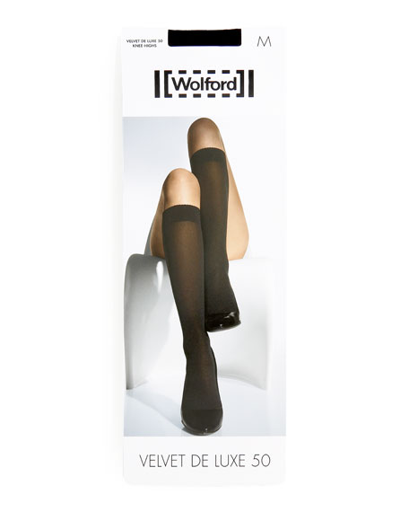 Velvet de Luxe 50 Denier Knee-High Socks