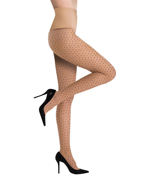 Premier Sheer Pin Dot Tights