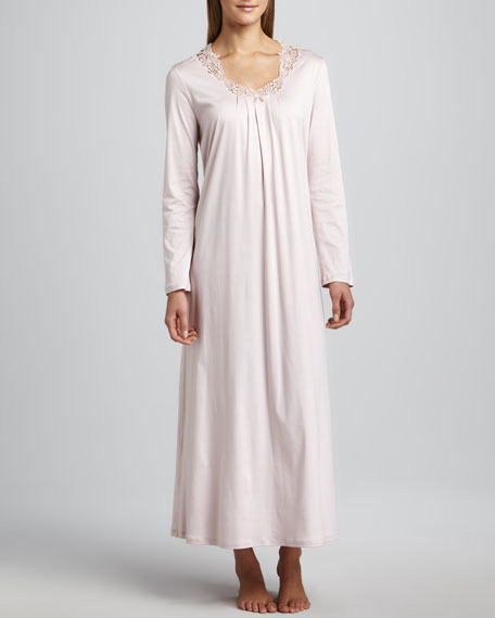 Amelia Long-Sleeve Gown
