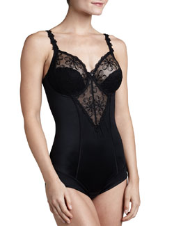 Simone Perele Revelation Control Bodysuit with Built-in Full Coverage Bra