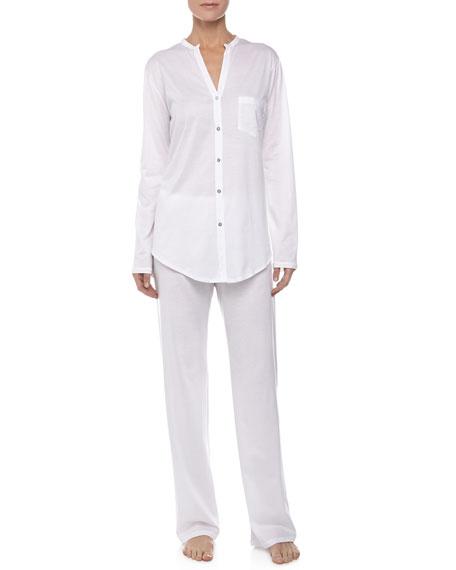 Hanro Cotton Deluxe Pajama Set