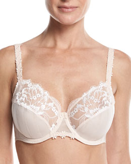 Amour Two-Part Full Cup Bra, Anthracite