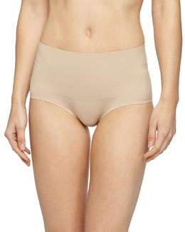 Undie-Tectable® High-Waist Bikini Briefs, Soft Nude