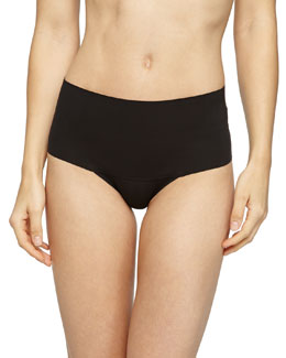 Undie-Tectable® High-Waist Boyshorts, Black