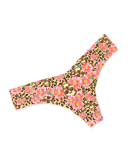 Eye Candy Animal-Print Thong, Pretty Wild