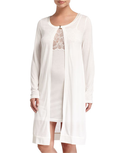 Iris Long-Sleeve Robe