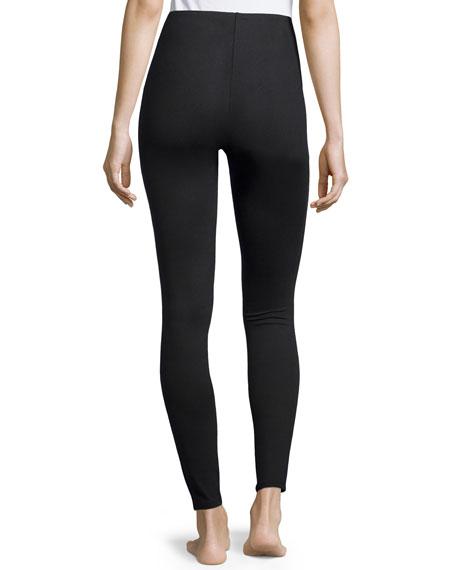 Essential Stretch Leggings, Very Black