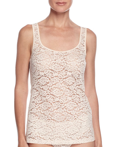 Messina Stretch-Lace Tank