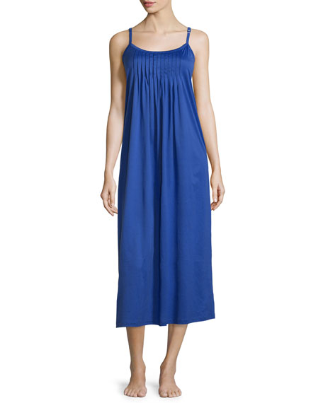 Hanro Juliet Pleated Jersey Chemise