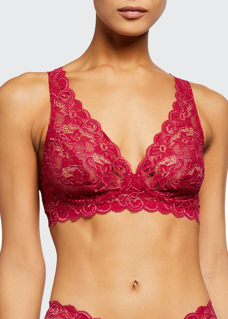 Luxury Moments Soft Lace Bra, Ebony