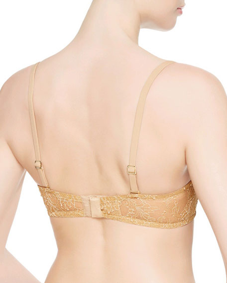 Shape Strapless Band Bra, Nude