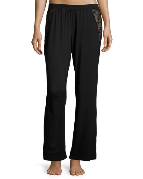 Ritz Jersey Lounge Pants, Black