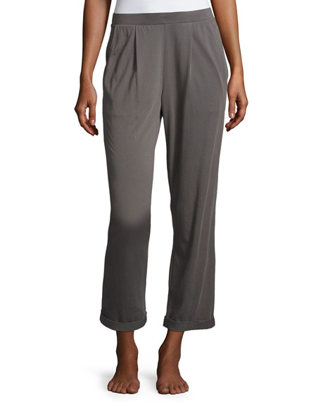 Pajama Cropped Pants