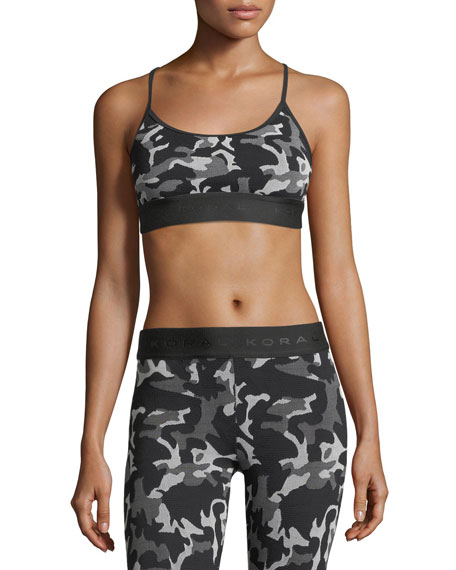 Koral Activewear Sweeper Versatility Camouflage Jacquard Sports