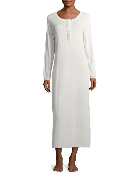 Flora Long-Sleeve Nightgown