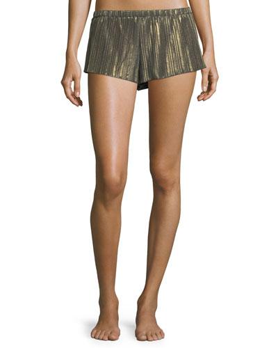 Minimalista Plisse Lounge Shorts
