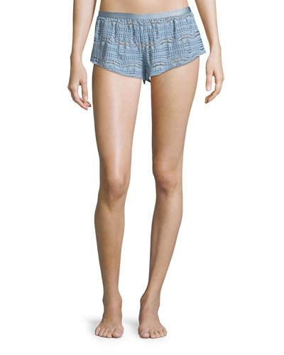 Bisou Lace Lounge Tap Shorts