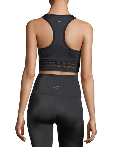 Mesh to Impress Compression Lux Sports Bra