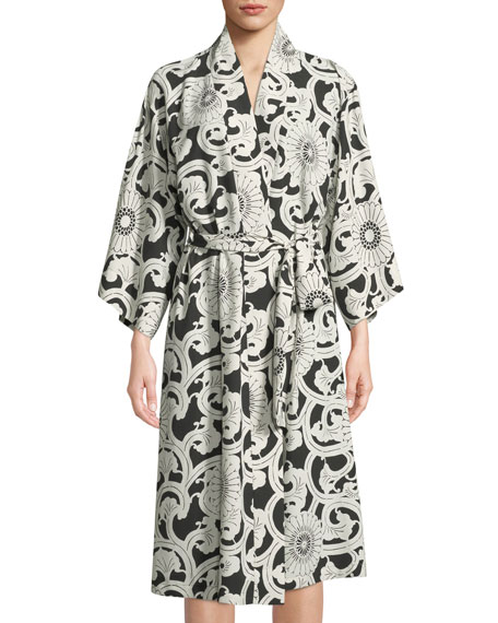 Silk Road Long-Sleeve Robe