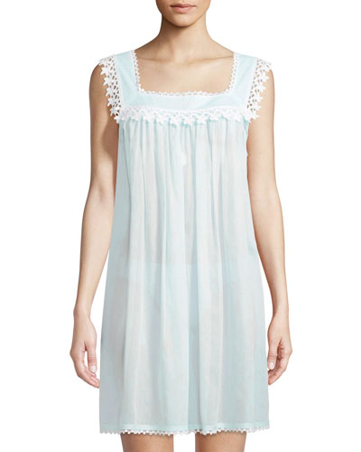 Evening Start Sleeveless Nightgown
