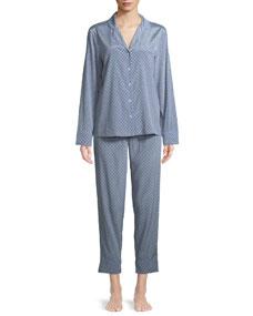 b099843a1be Stella McCartney Poppy Snoozing Pants Silk Pajama Set