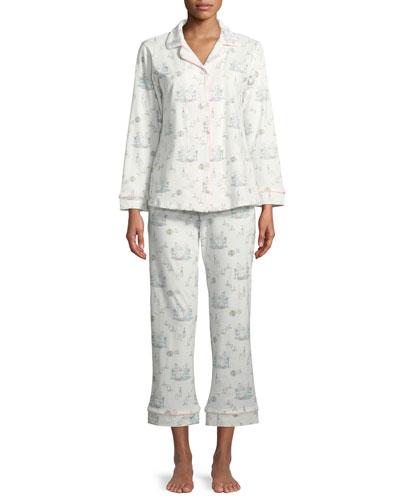 Ladies Who Brunch Classic Pajama Set