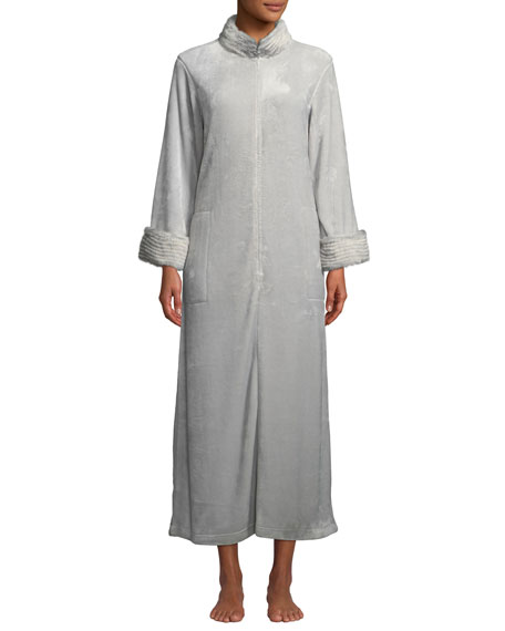 Image 1 of 1: Alpine Plush Long Zip Caftan