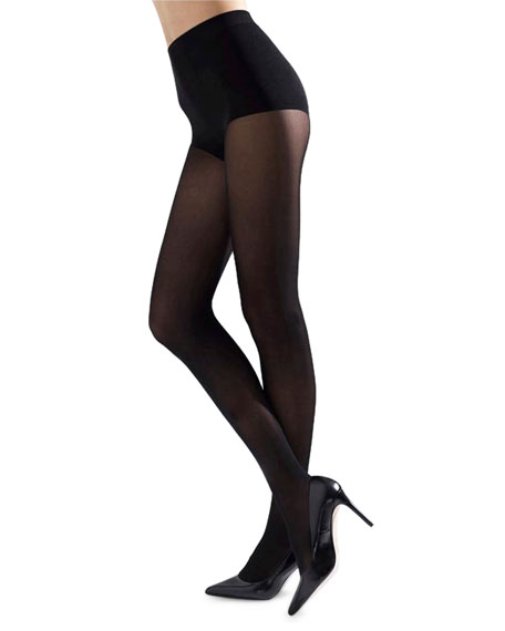 0961fc3050a99 Natori Velvet Touch Opaque Control-Top Tights