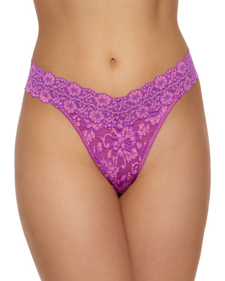 Hanky Panky Original-Rise Cross-Dyed Thong