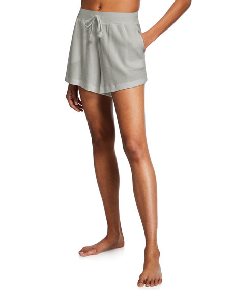Skin Shorts SARAH LOUNGE SHORT WITH DRAWSTRINGS