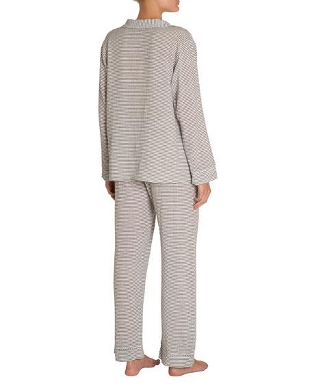 Nautico Striped Long Pajama Set