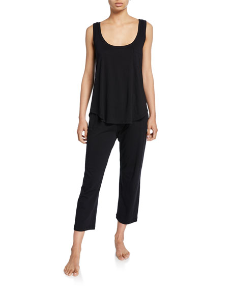 Oaklie Jersey Crop Pants